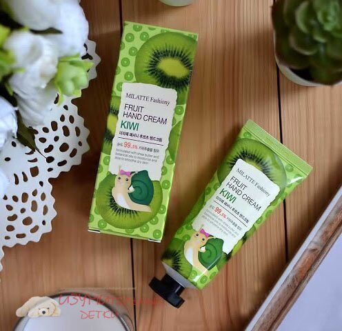 Пенка для умывания MILATTE Fashiony Fruit Foam Cleanser - Киви