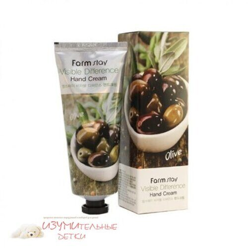 FARMSTAY Visible Difference Hand Cream Olive